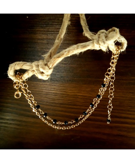 Bracciale Argento 925 con bagno in oro puro