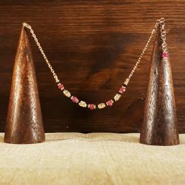 Bracciale Argento 925 con bagno in oro puro (rosa)